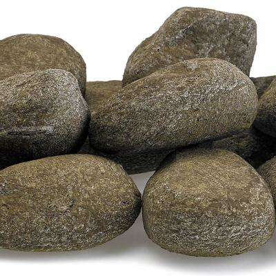 Nutmeg Brown Lite Stones - 15 Stone Set Includes 2 lbs. Small Lava Rock
