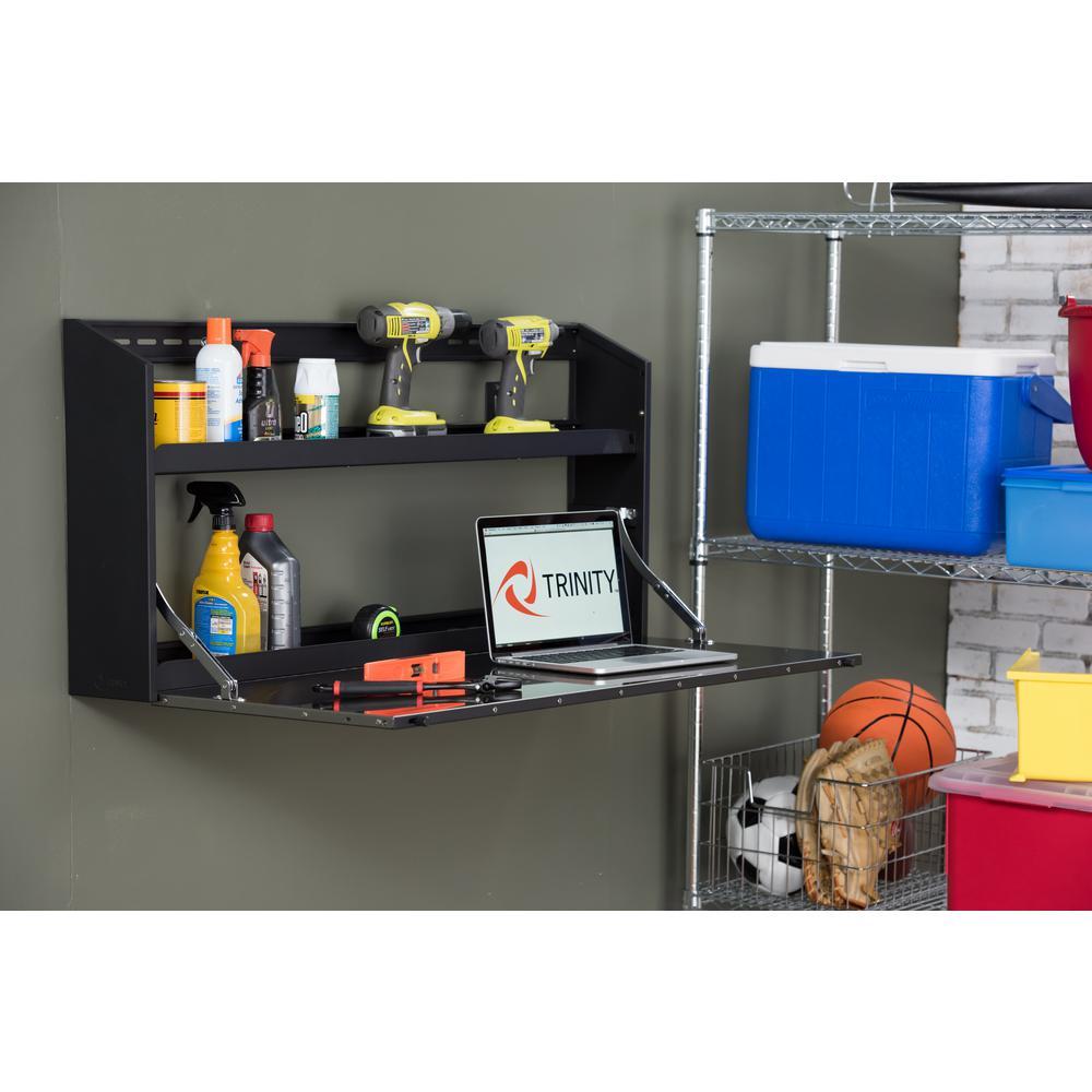 Trinity 21 In H X 44 In W X 6 In D Steel Wall Cabinet