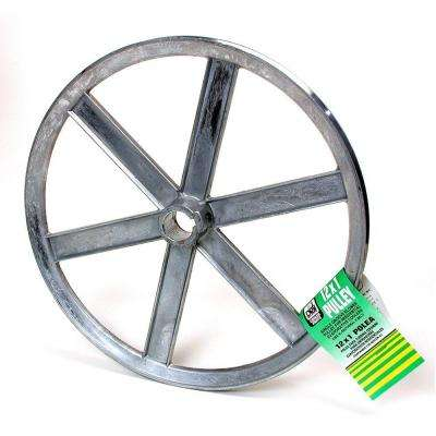 12 in. x 1 in. Evaporative Cooler Blower Pulley