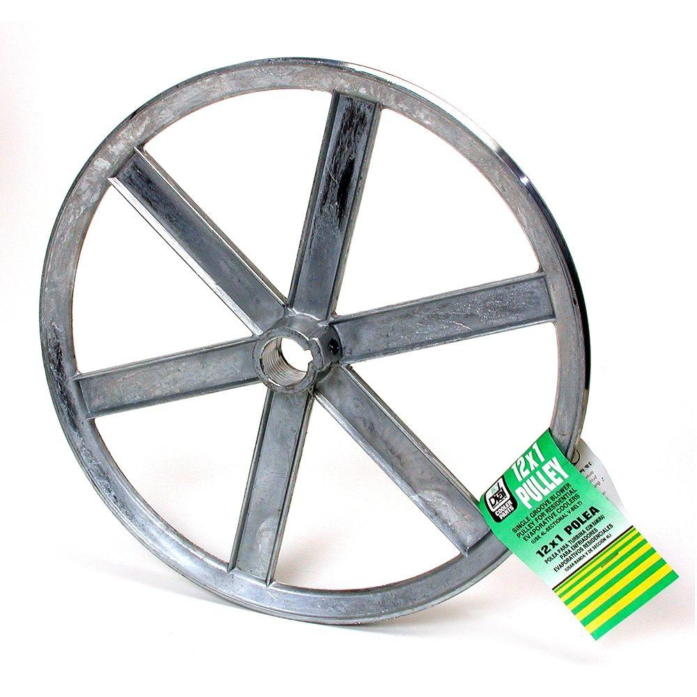 DIAL 12 in. x 1 in. Evaporative Cooler Blower Pulley