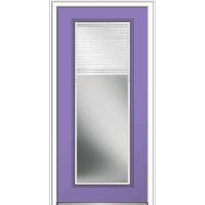 36 in. x 80 in. Internal Blinds Low-E Glass Left-Hand
