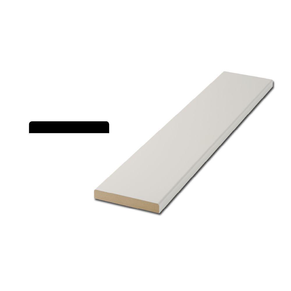 I458 11/16 in. x 4-5/8 in. MDF Interior Door Flat Jamb Moulding
