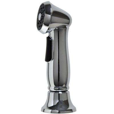 Single-Handle Premium Pull-Out Sprayer Kitchen Faucet Side Spray with Guide in Chrome