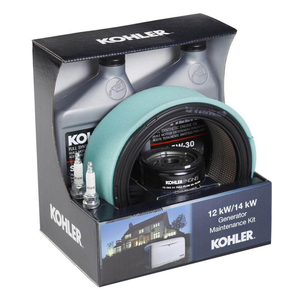 KOHLER Maintenance Kit for 12RESL,14RESL and 14RESAL Generators