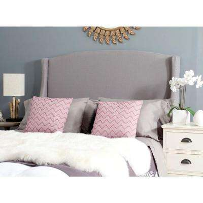 Skyler Light Grey Full Headboard