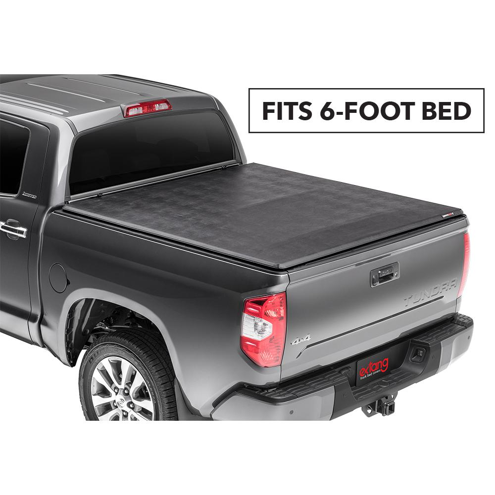Extang Trifecta 2 0 Tonneau Cover For 95 04 Toyota Tacoma 6 Ft 2 In Bed Fleetside 92870 The Home Depot