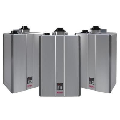 Super High Efficiency Plus 11 GPM Residential 199,000 BTU Natural Gas Interior Tankless Water Heater (3-Pack)