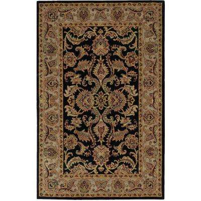 India House Black 5 ft. x 8 ft. Area Rug