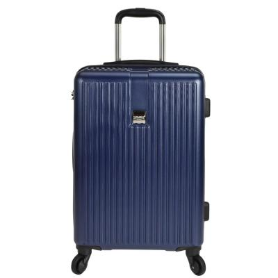 Sparta 21 in. Hardside Spinner Suitcase, Navy