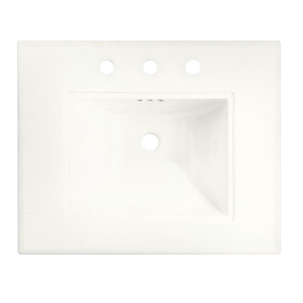 KOHLER Memoirs 20.5 In. Ceramic Pedestal Sink Basin In White With Overflow  Drain K 2345 8 0   The Home Depot
