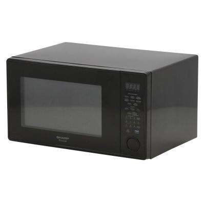 1.3 cu. ft. Countertop Microwave in Black with Sensor Cooking