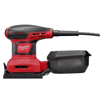 3 Amp 1/4 Sheet Corded Palm Sander