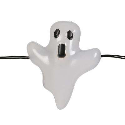 6 ft. 18 Warm White LED Halloween Ghost Lights with Timer