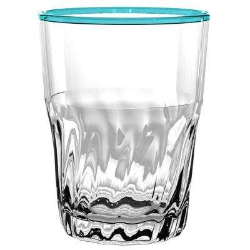 Cantina Aqua DOF Glass (Set of 6)