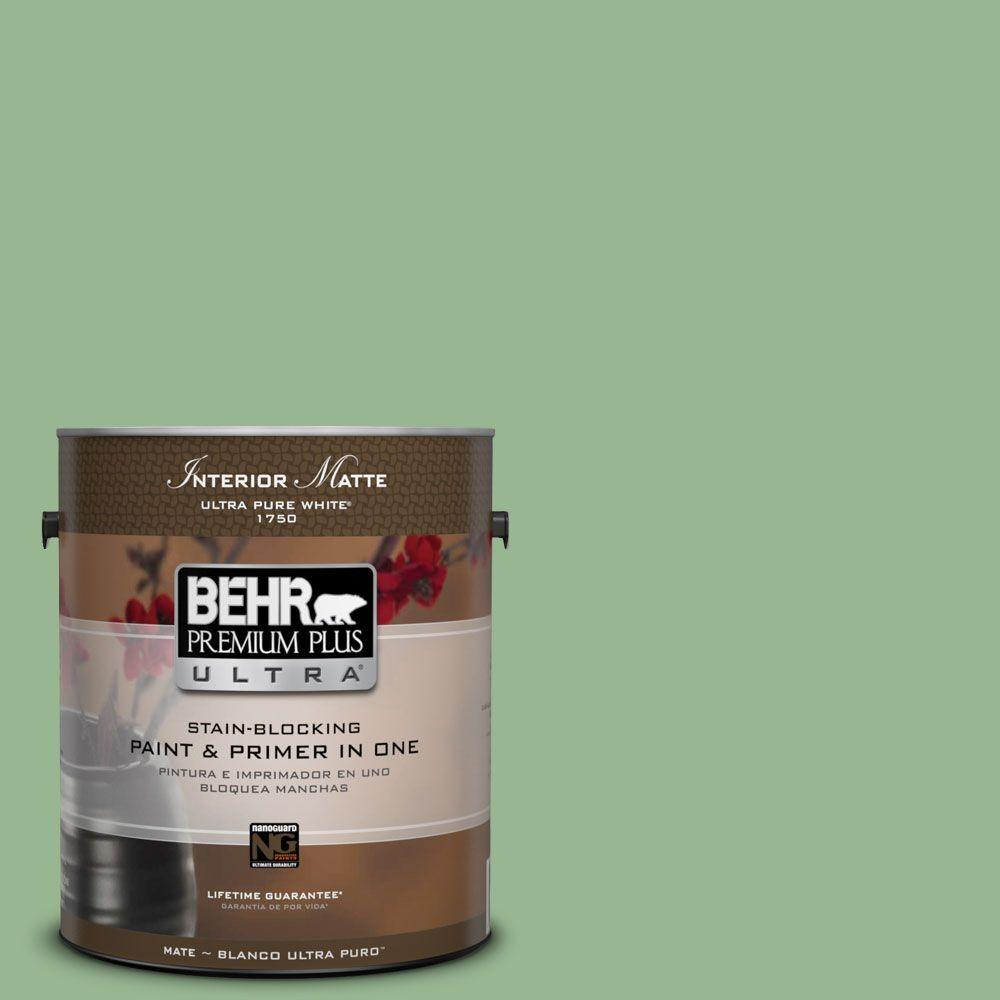 1 gal. #M400-4 Brookview Matte Interior Paint