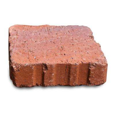 Relic 6 in. x 1.63 in. x 6 in. Red Clay Flash Paver