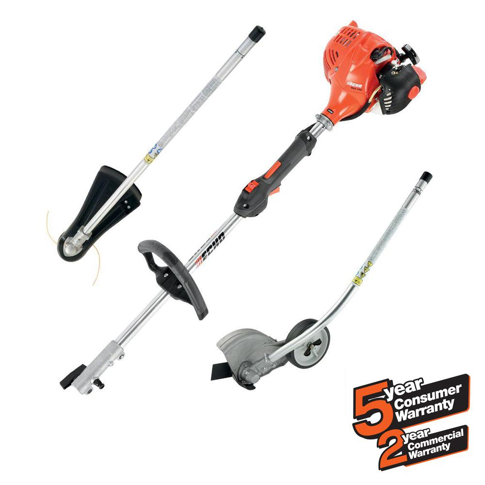Echo 21 2cc Gas 2 Stroke Cycle Pas Straight Shaft Trimmer And Edger Kit