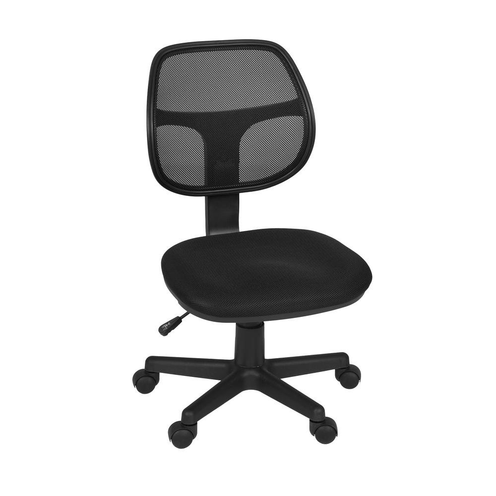 Regency Carter Black Swivel Chair