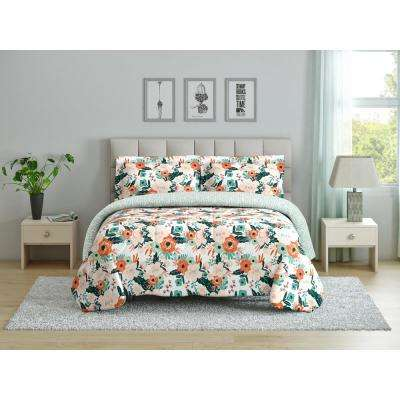 Cambridge (Floral) King Comforter Set