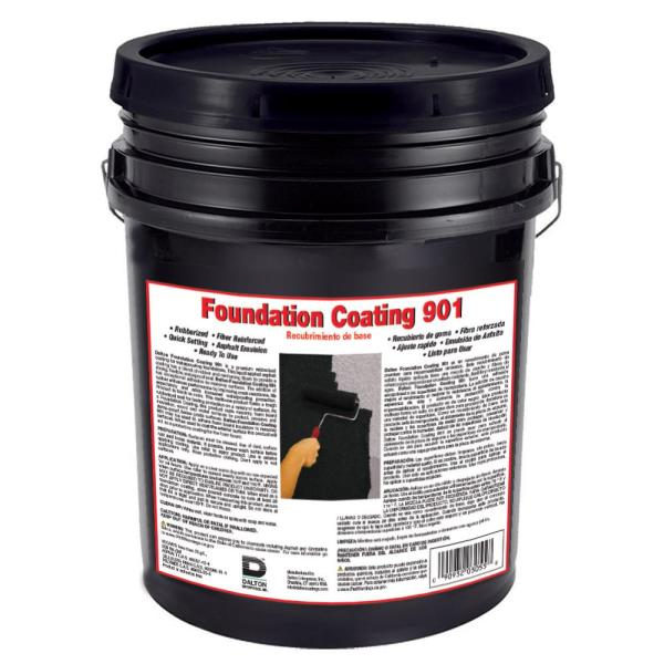 4.75 Gal #901 Foundation Coating/Waterproofer