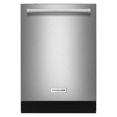 Top Control Dishwasher in Stainless Steel with Stainless Steel Tub, ProWash Cycle, 46 dBA
