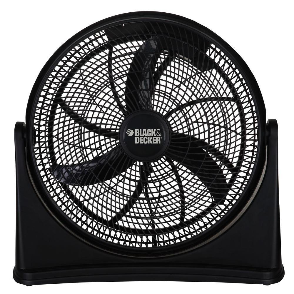 BLACK+DECKER 16 in. High Velocity Floor Fan
