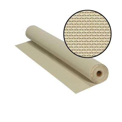 36 in. x 100 ft. Beige SunTex 80