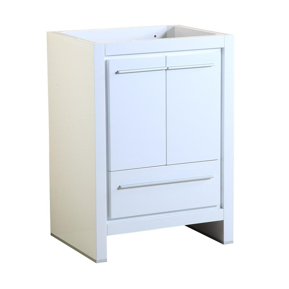 Fresca Allier In Modern Bathroom Vanity Cabinet In White - 24 contemporary bathroom vanity