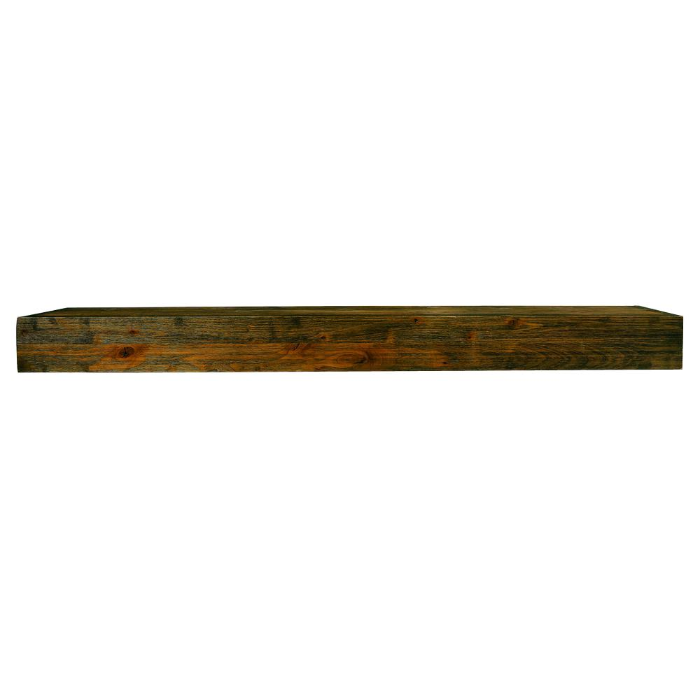 super popular 584c9 c5cc9 Rustica Hardware Sundance 60 in. x 10 in. Rustic Mantel Shelf with Glaze