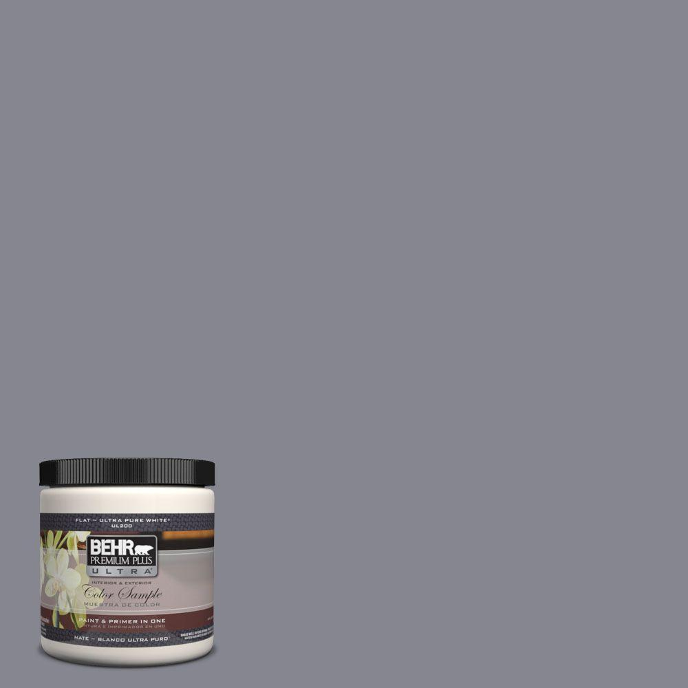 Ul240 6 Gray Heather Matte Interior Exterior Paint And Primer In One Sample