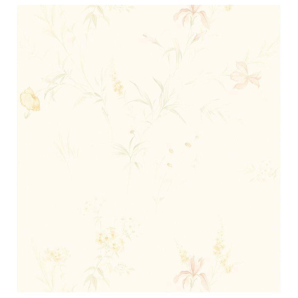 Brewster Lilac Wallpaper