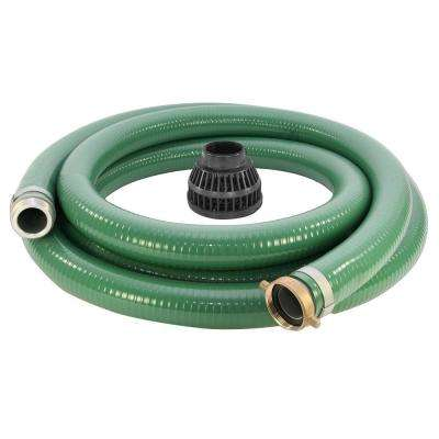 2 in. X 15 ft. Reinforced Suction Hose
