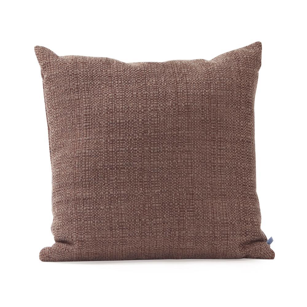 Coco Gray Slate 16 in. x 16 in. Decorative Pillow