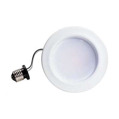 65W Equivalent Soft White Dimmable LED Energy Star with Warm Glow 4 in. Retrofit Recessed Downlight Flood Light Bulb