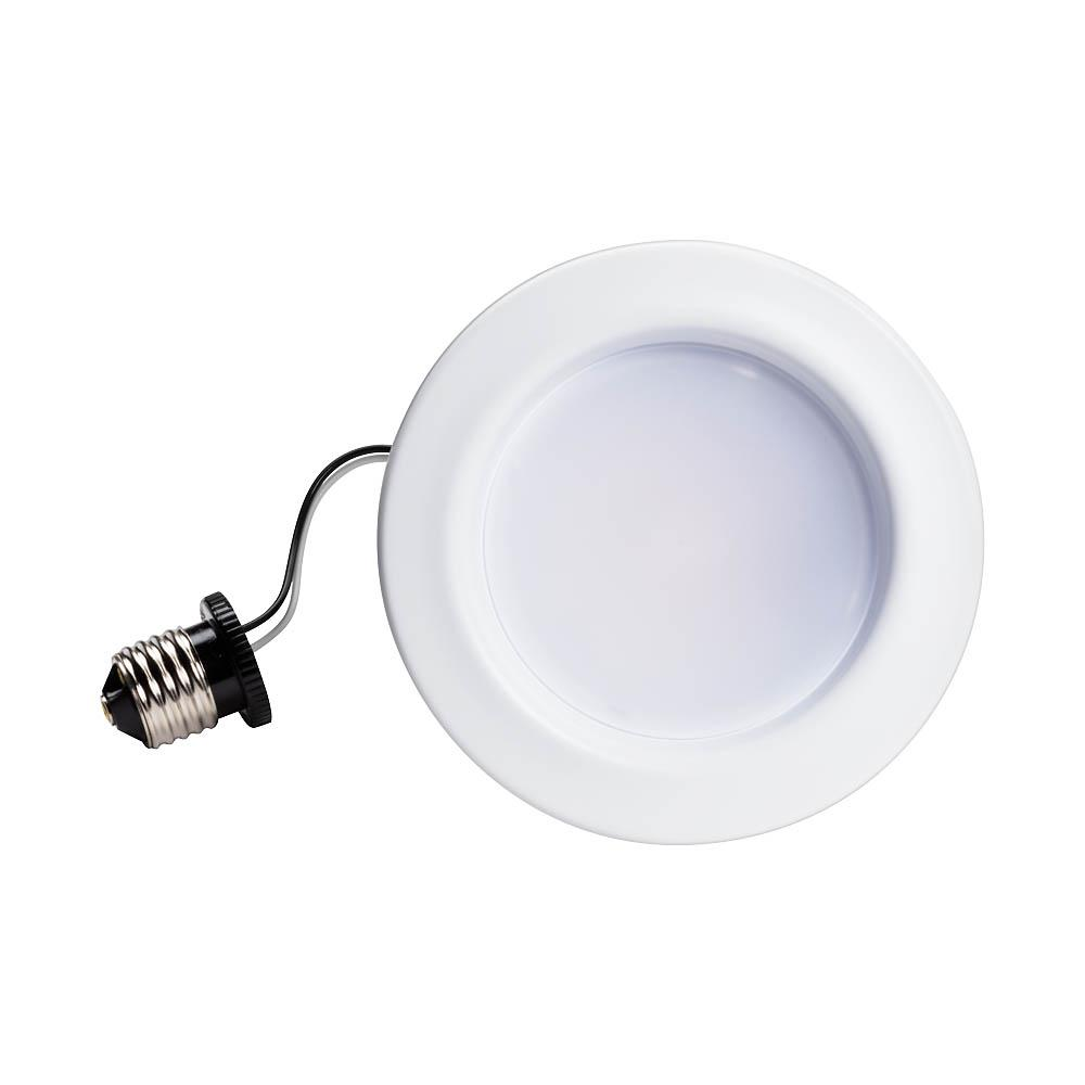 Philips 65-Watt Equivalent Soft White Dimmable LED Energy Star with Warm Glow 4 in. Retrofit Recessed Downlight Flood Light Bulb