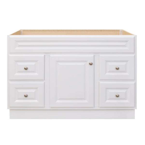 Glacier Bay Hampton 48 in. W x 21 in. D x 33.5 in. H Bathroom