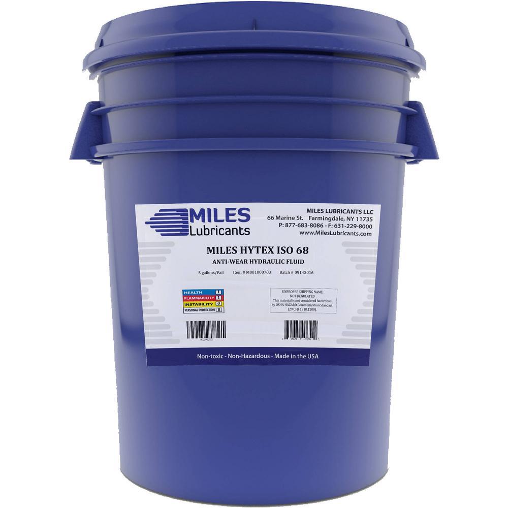 Hytex 5 Gal. ISO 68 Anti-Wear Hydraulic Fluid Pail