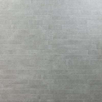 Essential Cement Grigio 12 in. x 24 in. 10mm Matte Porcelain Floor and Wall Mosaic Tile (6 pieces / 11.62 sq. ft. / box)