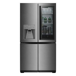 Click here to buy LG SIGNATURE 30.8 cu. ft. French Door Refrigerator with InstaView Door-in-Door in Stainless Steel by LG SIGNATURE.