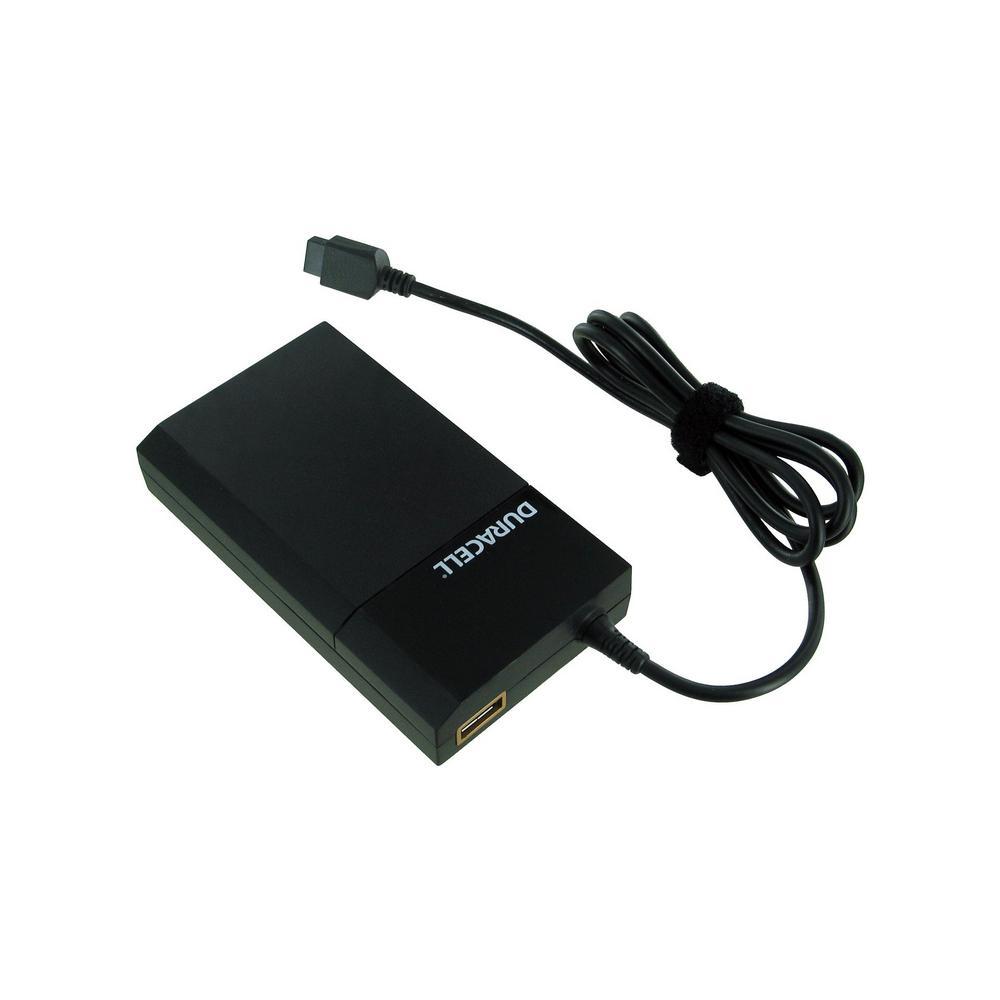 Universal 90-Watt AC Adapter Plus USB-7 Charging Tips