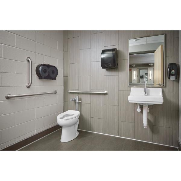 Kohler Greenwich Wall Mount Vitreous China Bathroom Sink In White With Overflow Drain K 2031 0 The Home Depot