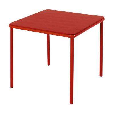 Red Kid's Table