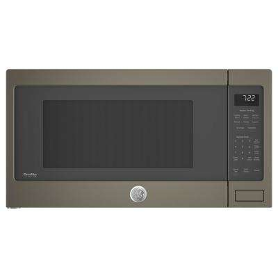 2.2 cu. ft. Countertop Microwave in Slate with Sensor Cooking
