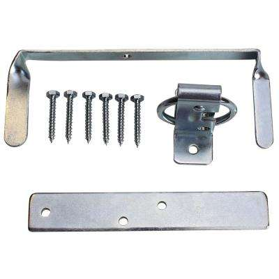 Double Zinc Plated Large Ring Gate Latch