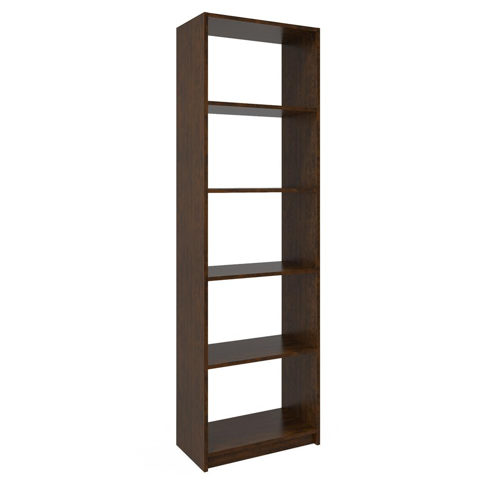 14 in. D x 24 in. W x 84 in. H Vanilla Bean Wood Shelving...