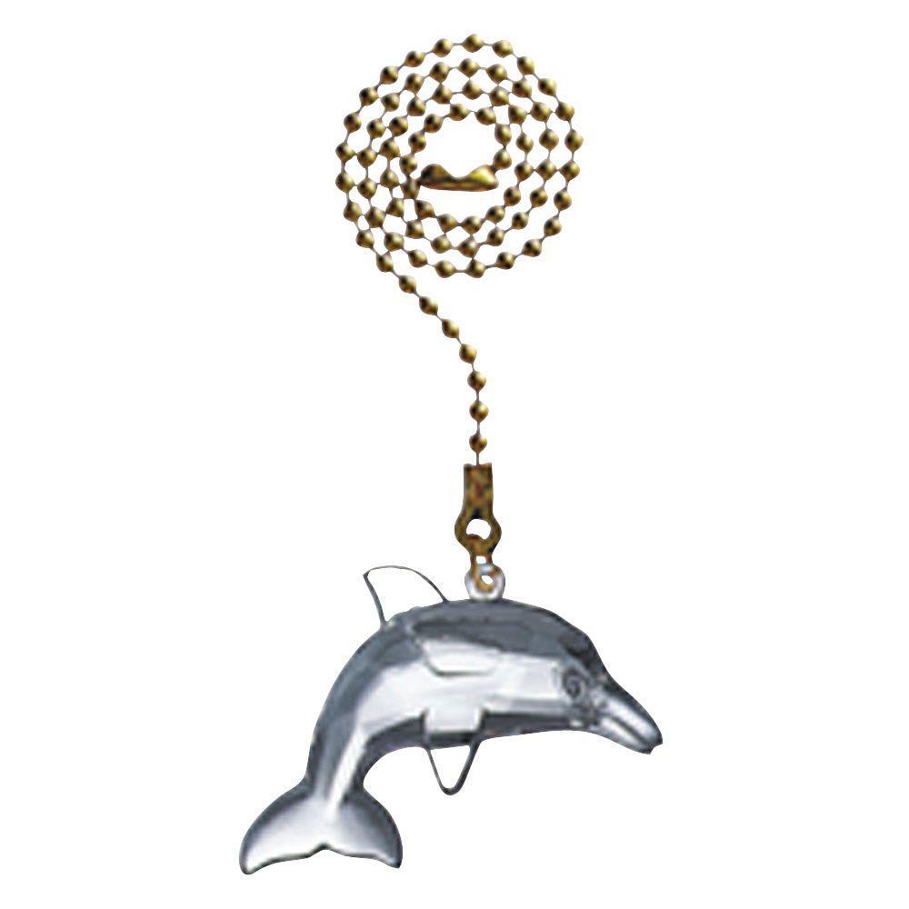 Acrylic Dolphin Pull Chain