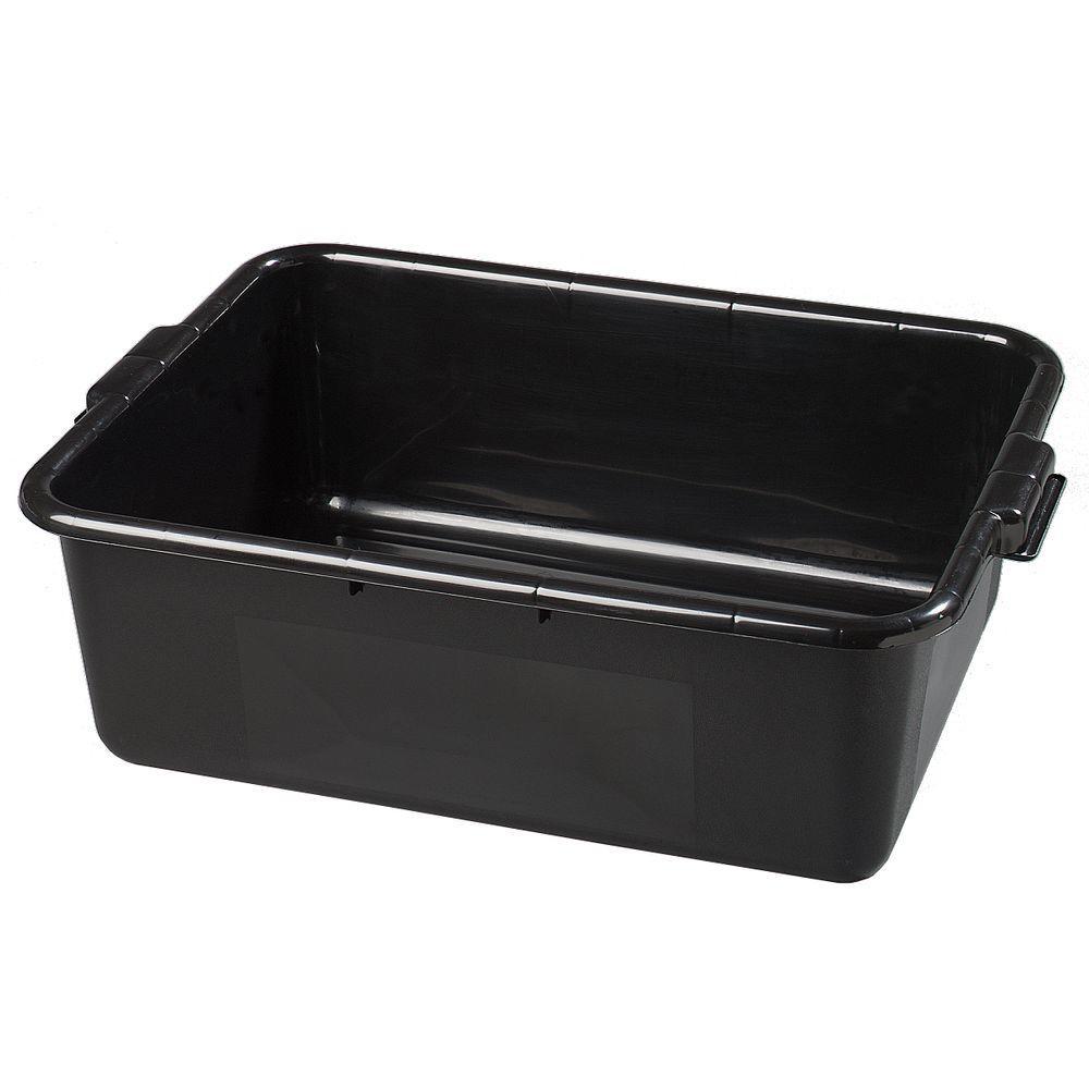 Carlisle 4401103 20.75 x 15 x 7 in. Bus Box - Black