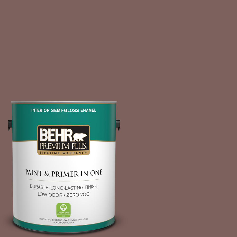 1-gal. #N130-6 River Rocks Semi-Gloss Enamel Interior Paint