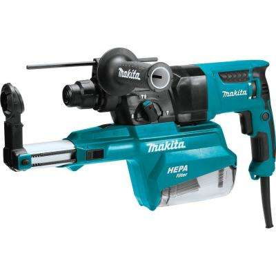 1 in. AVT Rotary Hammer SDS-PLUS Bits with HEPA Dust Extractor, 3-Mode Variable Speed Case (Pistol-grip)