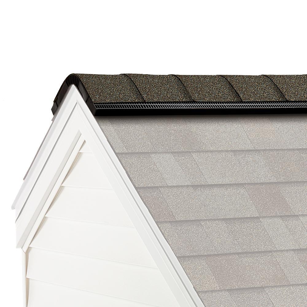 ProEdge Algae Resistant Driftwood Hip and Ridge Asphalt Roofing Shingles (33